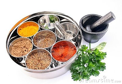 Masala Dabba -Indian spice box