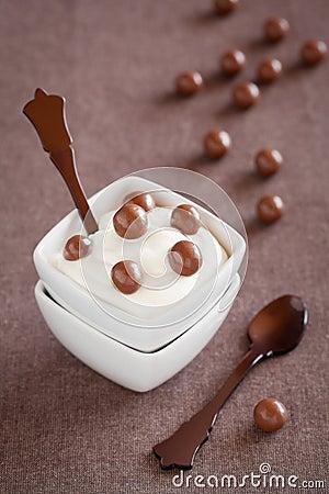 Free Mascarpone Cream Royalty Free Stock Images - 23410529