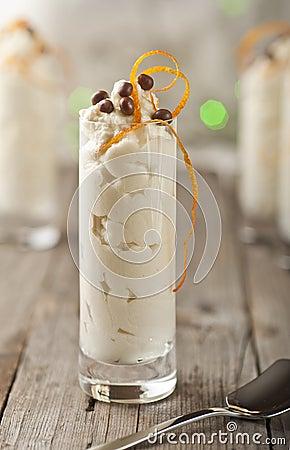 Free Mascarpone White Chocolate Mousse Royalty Free Stock Images - 22074709