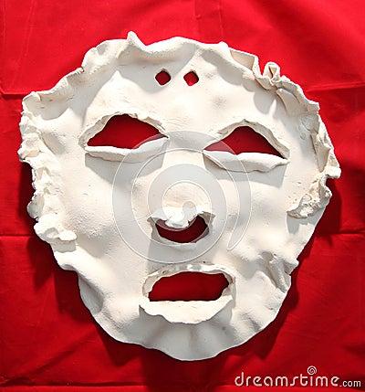 Maschera Di Protezione Ceramica Bianca Immagine Stock Libera da Diritti - Immagine: 38699716