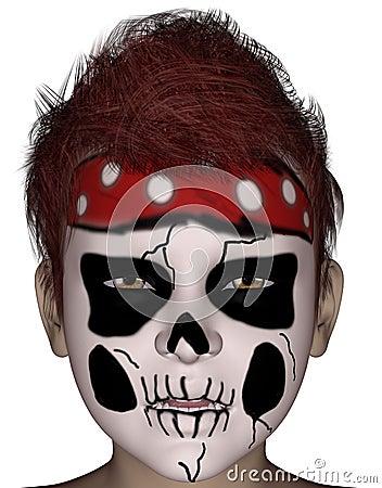 Maschera Di Protezione Di Halloween Immagini Stock Libere da Diritti - Immagine: 14819339