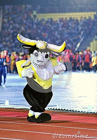 Mascot Editorial Image