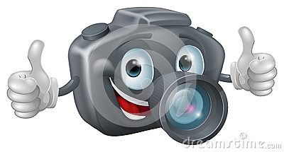 mascotte d 39 appareil photo de dessin anim images stock image 27422454. Black Bedroom Furniture Sets. Home Design Ideas