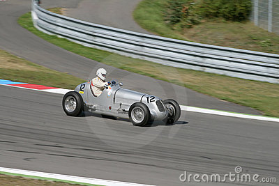 Maserati 1938 - downhill Editorial Stock Image