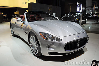 Maserati Gran Cabrio Photo stock éditorial