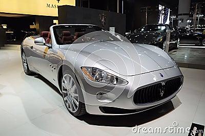 Maserati Gran Cabrio Redactionele Stock Foto