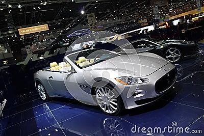 Maserati Gran Cabrio by Pininfarina Editorial Stock Photo