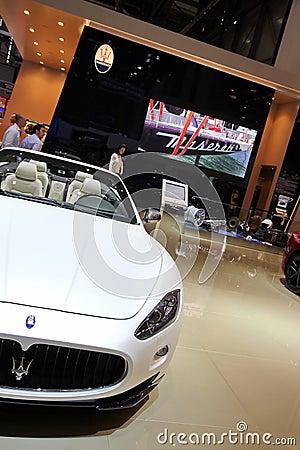 Maserati Gran Cabrio Sport Editorial Image
