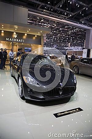 Maserati Gran Turismo S Automatic Editorial Photography