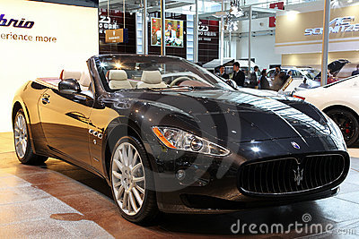Maserati GranCabrio car Editorial Photo