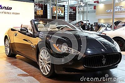 Maserati GranCabrio car Editorial Photo