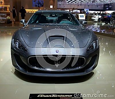 Maserati Granturismo mc stradale 2014 Editorial Photo