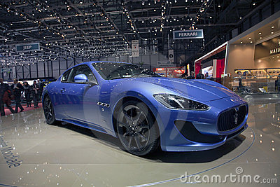 Maserati GranTurismo Sport 2013 Editorial Image