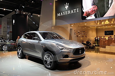 Maserati Kubang SUV Editorial Stock Photo