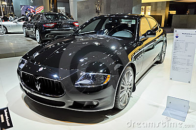 Maserati Quattroporte Editorial Stock Photo