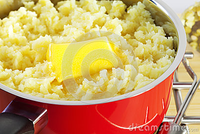 Mashed Potato and Butter