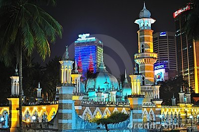 Masjid Jamek Editorial Stock Image