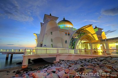 Masjid Selat Melaka (Straits Mosque)