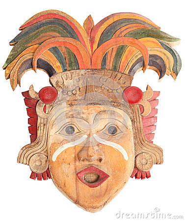 Mask of the ancient idols