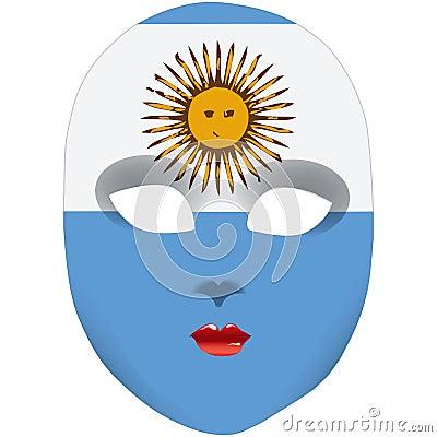 Mask Argentina