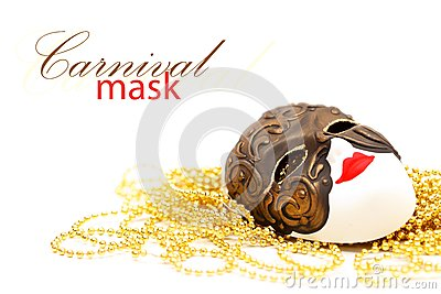 Mask with bead