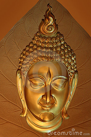 Mask of Buddha