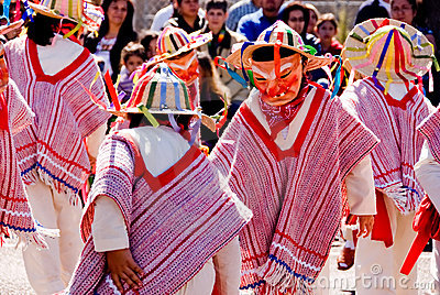 Mask dance on charro day 2 Editorial Stock Image