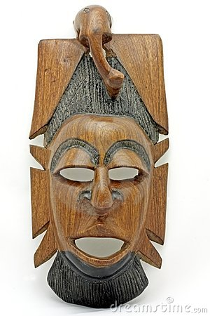 Mask from Gambia Africa