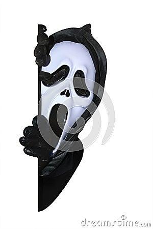 Free Mask Of Grim Reaper Stock Image - 10042681
