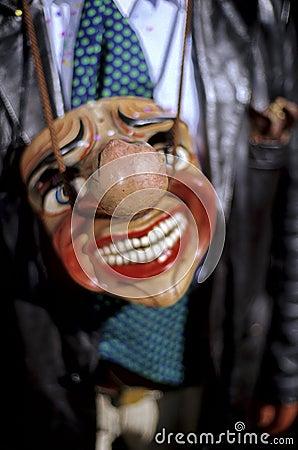Mask- Peruvian festival