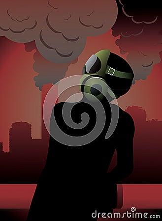 Mask for polution