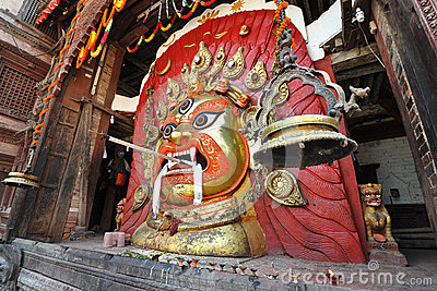 Mask of Seto Bhairab