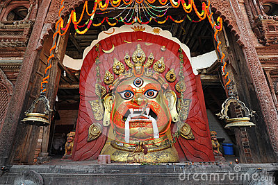 Mask of Seto Bhairab