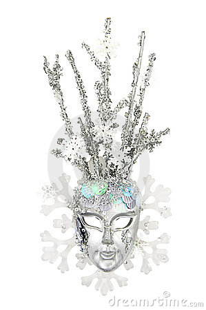 Mask Of Snow Queen