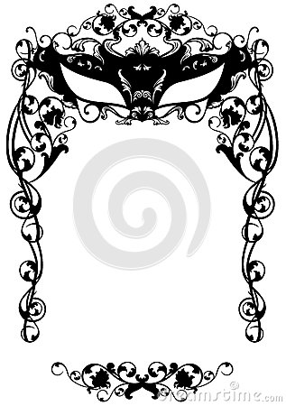Masquerade Invitation Royalty Free Stock Photography - Image: 15531497