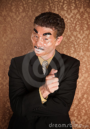 Masked Businessman