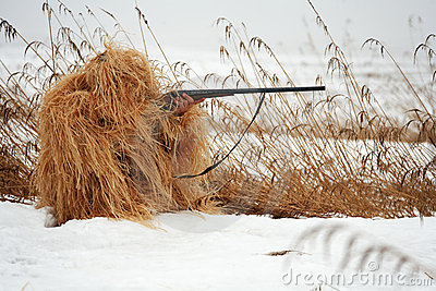 Masking hunter