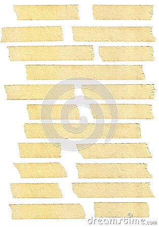 Free Masking Tape Textures Royalty Free Stock Image - 16851066
