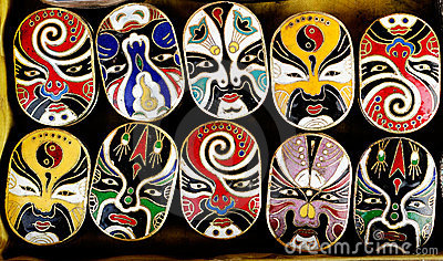 Masks of Peking Opera