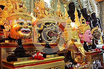 Masks of Ramayana
