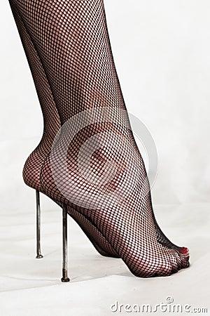 Free Masochistic Foot Fetish Stock Photo - 11020190