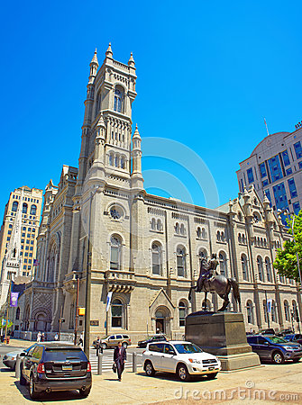 Free Masonic Temple In Philadelphia PA Royalty Free Stock Images - 72674849