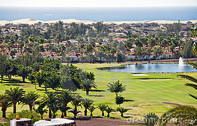 Maspalomas in Canary Islands