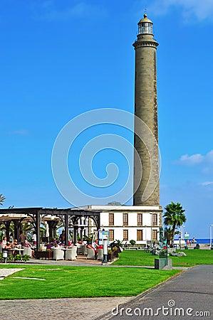 Maspalomas, Gran Canaria, Spain Editorial Photography