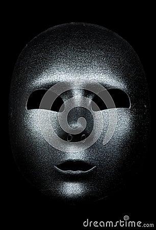 Masque argenté