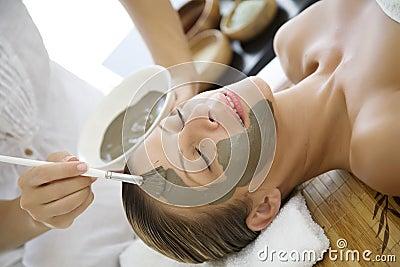 Masque de boue
