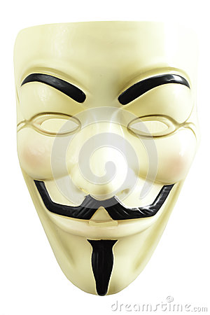 Masque de Guy Fawkes Image éditorial