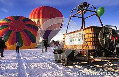 Mass balloon launch Editorial Photo