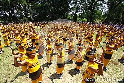 Mass dance Editorial Image
