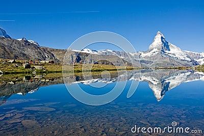 Mass tourism at the Matterhorn